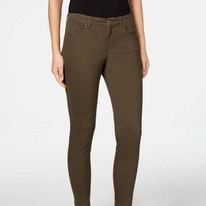 Style & Co Olive Curvy Skinny Jeans